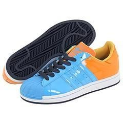 adidas Originals Superstar 1 Energy Cyan/Cyan/Nu Orange Athletic