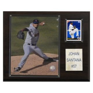 MLB 12 x 15 in. Johan Santana New York Mets Player Plaque