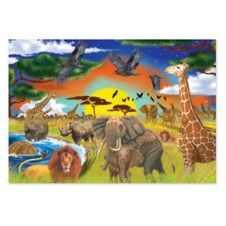 Melissa and Doug Safari Adventure Jigsaw Puzzle   Jigsaw Puzzles at