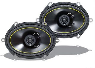 Kicker 07DS680 6x8 inch Full Range Speakers