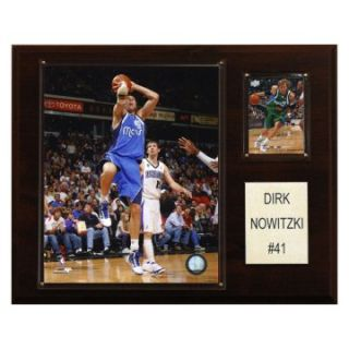 NBA 12 x 15 in. Dirk Nowitzki Dallas Mavericks Player Plaque at