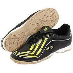 Adidas F10.9 IN Black/Neon Yellow/Running White Athletic