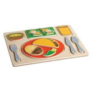 Guidecraft Sorting Food Tray Puzzle   Mexican   Kids Activities at