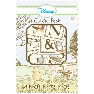 EK Success Disney Classic Pooh Chipboard Box (64/Pkg)