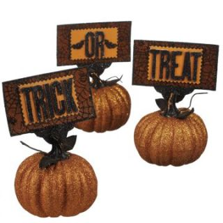 Midwest CBK Halloween Whimsies Trick or Treat Pumpkins   Set of 3 at