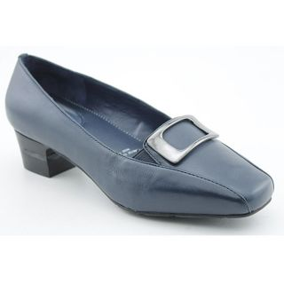 Barefoot Freedom by Drew Womens Amanda Blue Dress Shoes Wide (Size 5