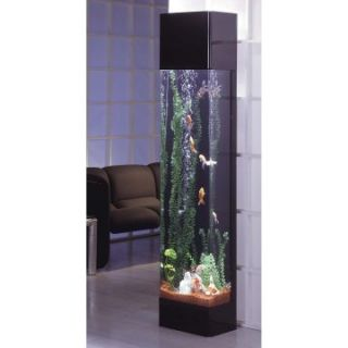Midwest Tropical Rectangle Aqua 30 Gallon Tower Aquarium   Fish Tank