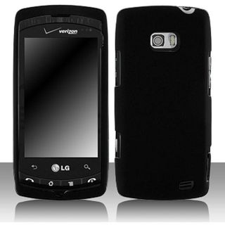 LG Ally VS740 Black Snap on Protective Case