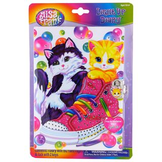 Lisa Frank Light Up Kitties Diary