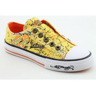 Ed Hardy Boys Lowrise Shine Yellow Casual Shoes