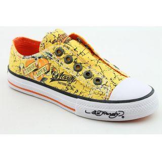 Ed Hardy Boys Lowrise Shine Yellow Casual Shoes