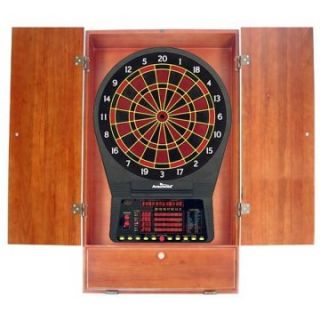 Arachnid CricketPro 800 Electronic Dart Board with Cabinet