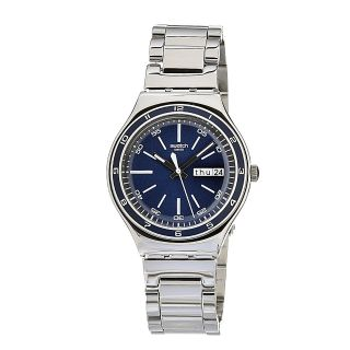 Swatch Mens Stainless Steel Multi function Watch