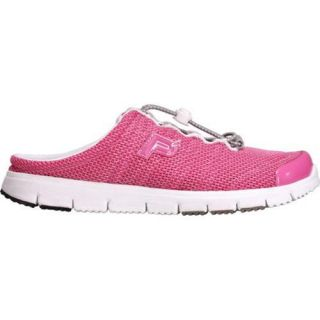 Womens Propet Travel Walker Slide Fuchsia Mesh