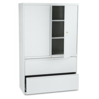 HON 800 Series 42 inch Wide Lateral File and Storage Cabinet