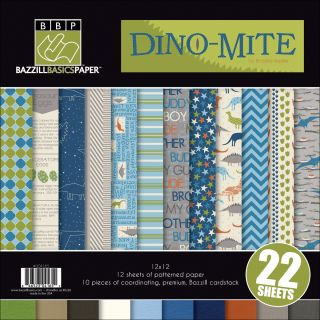 Dino Mite Multi Pack 12X12 inches