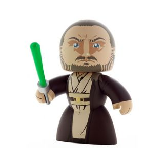 Star Wars Mighty Muggs Qui gon Jinn Playset