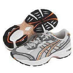 ASICS Gel Womens Quicksilver/ Burnt Orange Shoes