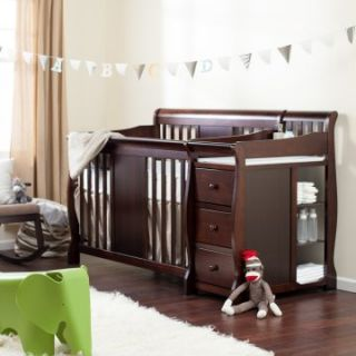 Exclusive   Storkcraft Calabria Crib N Changer   Baby Cribs