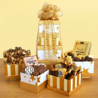 Golden Star Gourmet Gift Tower   Gourmet