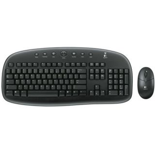 Logitech Cordless Desktop EX90 Keyboard and Mouse