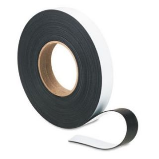 Magna Visual 1 in. x 50 ft. Roll Magnetic Write On/Wipe Off Strips