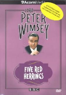 Lord Peter Wimsey   Five Red Herrings (DVD)