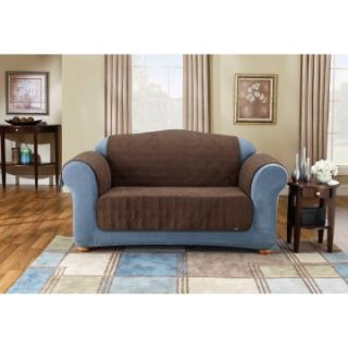 Sure Fit Suede Sofa Pet Throw Cover   Sofa Slipcovers