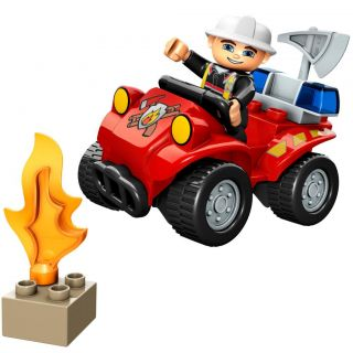 LEGO Duplo Fire Chief Toy Set