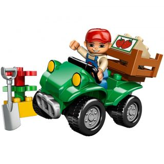 LEGO Duplo Farm Bike Toy Set
