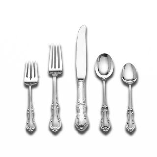 International Silver Joan of Arc 5 pc Sterling Silver Flatware Set
