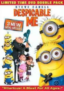 Despicable Me   Minion Madness Double Pack (DVD)