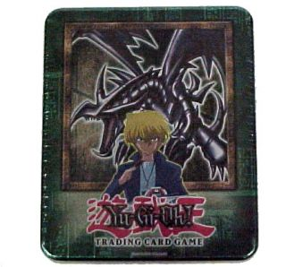 Yu Gi Oh 2002 Red Eyes Black Dragon Tin