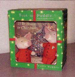 Toot& Puddle (Book & Plush Toy)