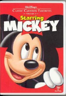 Walt Disneys Classic Cartoon Favorites Vol. 1: Starring Mickey (DVD