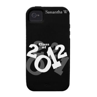 of 2012 Graduation Design Case Mate iPhone 4 Cases