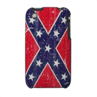 Dixie iPhone case distressed confederate flag