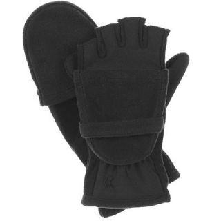 Isotoner Hybrid Convertible Fingerless Gloves