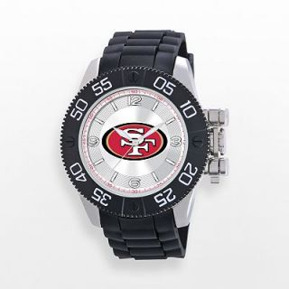 Game Time Beast Series San Francisco 49ers Stainless Steel Watch   NFL