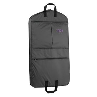 WallyBags TCU Horned Frogs 40 in. Suit Garment Bag