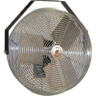 TPI Industrial Dock Fan — 18in. , Model# LDF 18 TE  Wall Mount