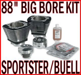 88 Big Bore Engine Motor Kit Harley Sportster Buell