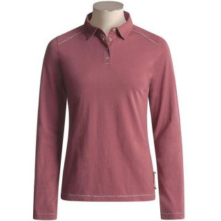 Madura Polo Shirt   Cotton Jersey, Long Sleeve (For Women)   Save 46%