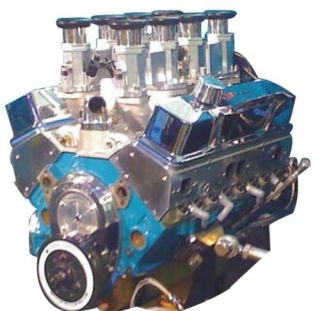 Chevy 475HP 383 Inglese 8 Stack EZ EFI Crate Engine