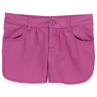 Arizona Solid Dolphin Twill Shorts   Girls 7 16 customer