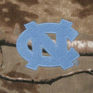 North Carolina Tar Heels Realtree Outfitters Camouflage Full Zip