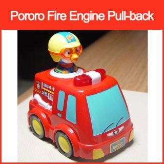 Pororo The Little Penguin Fire Engine Pull Back Car New