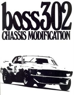 1969 70 Ford Boss 302 Engine Modification