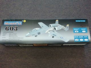 Li 603 RC A10 Warthog Brushless Twin Jet Engines Un Assembled