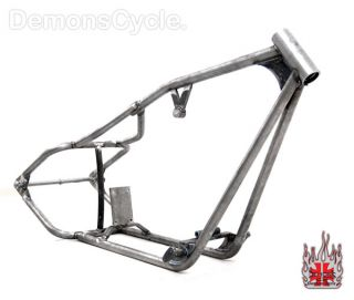 WIDE CUSTOM PRO STREET RIGID CHOPPER FRAME FOR HARLEY SPORTSTER ENGINE